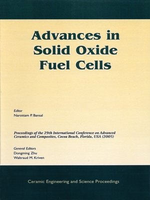cover image of Advances in Solid Oxide Fuel Cells